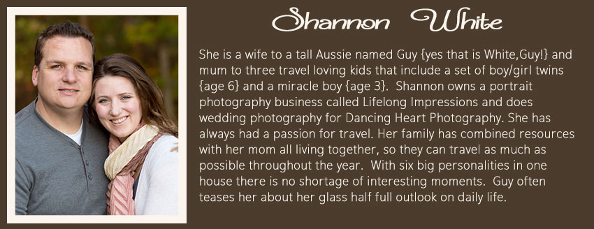 Shannon White Everyday Creative Bio About