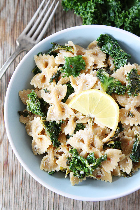 Goat-Cheese-Lemon-Pasta-with-Kale-5
