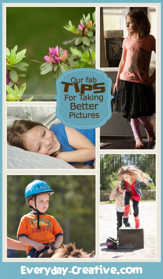 Learn to take great pictures with any camera.