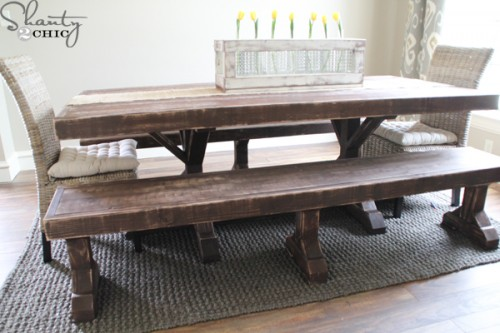 DIY-Dining-Table-and-Benches-500x333